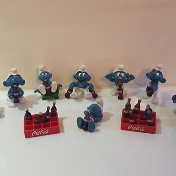 My Coke Smurfs - Coca-Cola