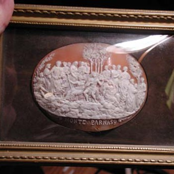 The  rarest cameo ever seen of MT Parnassus - Victorian Era