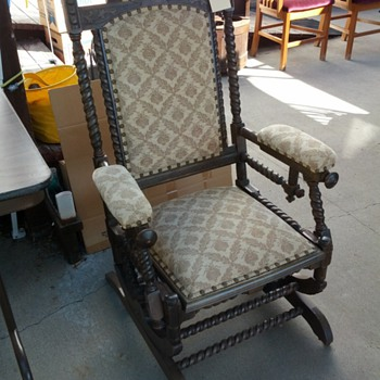 Mystery Platform Rocker - Furniture