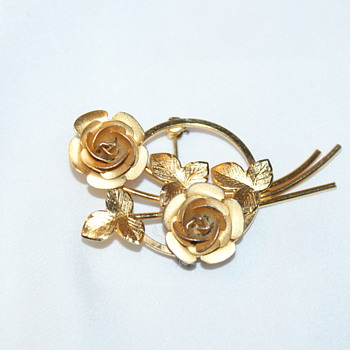 Bond Boyd Sterling Vintage Brooch