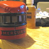 Rescued Mercury lighted passenger observation car