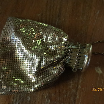 gold flapper purse