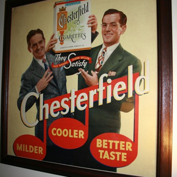 Glenn Miller and Fred Waring Chesterfield Poster