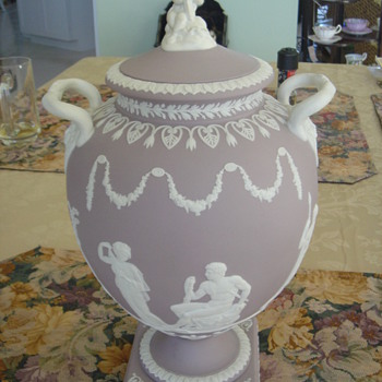 Wedgwood Lilac Jasperware