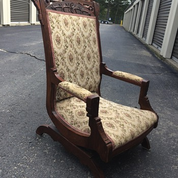 Old family rocking chair
