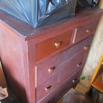 Any experts on Shaker furniture?? Possible shaker bureau...? - Furniture