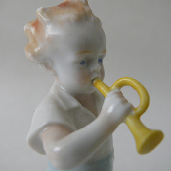 """boy with trumpet"" metzler ortloff"