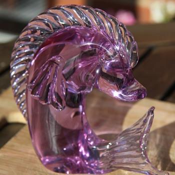 Licio Zanetti Alexandrite glass fish