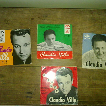 claudio villa records