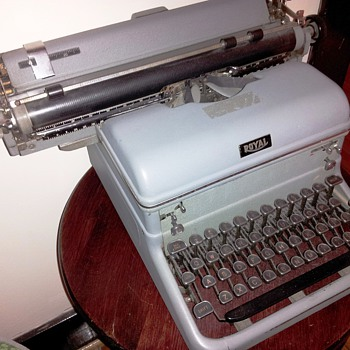1940's Royal Touch Control Typewriter with Magic Margin - Office