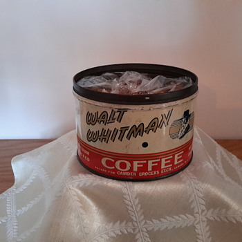 walt whitman coffee can