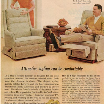 1968 - La-Z-Boy Chair Advertisement