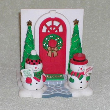 Christmas Salt & Pepper / Napkin Holder