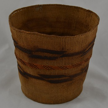Antique Native Basket similar to Tlingit