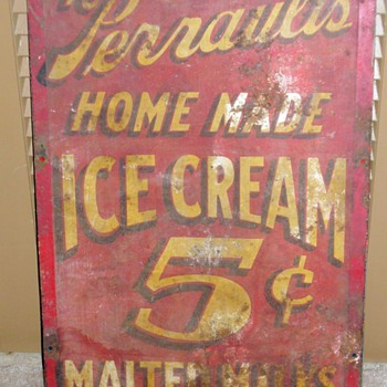 my favorite antique sign