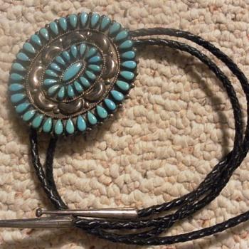 American Indian Bolo Tie - Native American