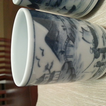 Japanese Chinese ? tea cups