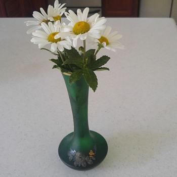 Bohemian/ Japanese Bud Vase