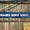 Fairbanks Morse Scale sign