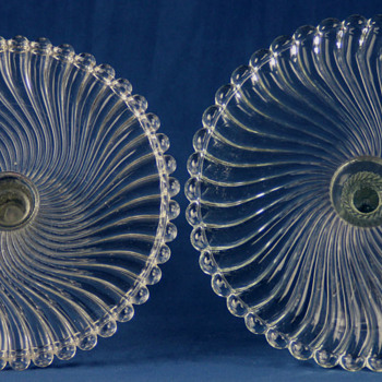 "The ""Ball and Swirl"" patterns by McKee Bros. and Westmoreland - Glassware"
