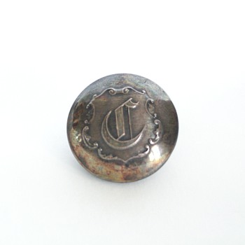 Silverplate Uniform/Military Buttons - Military and Wartime