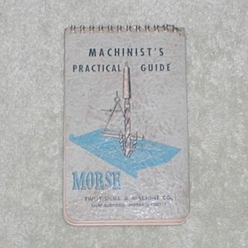 1950 Morse Twist Drill &amp; Machine Co. - Paper