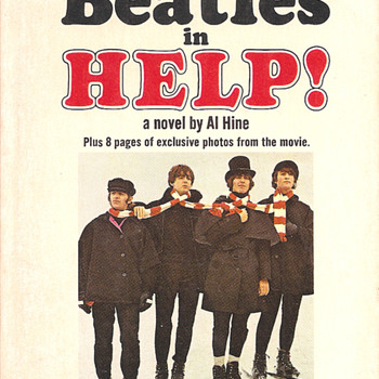 Beatles HELP! paperback - Books