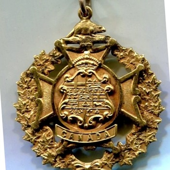 Markdale Ontario Unlisted WWI Medal - Military and Wartime