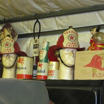 Texaco Fire Chief Hats - Toys
