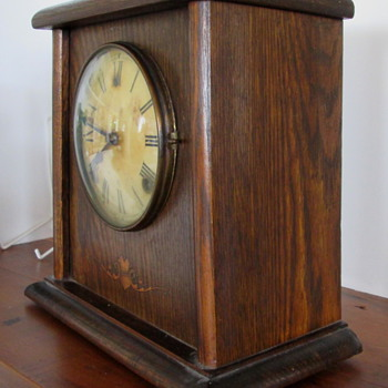Wm. Gilbert Clock Company Mantle Clock.. ((thank you Tutzie)) - Clocks