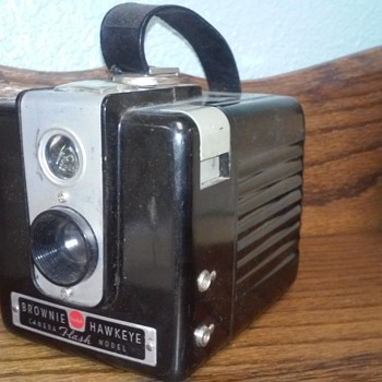 I love this cute Vintage Kodak Brownie Camera  - Cameras