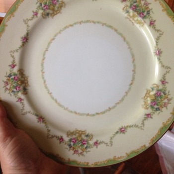 Beautiful unidentified Noritake Occupied Japan China - China and Dinnerware