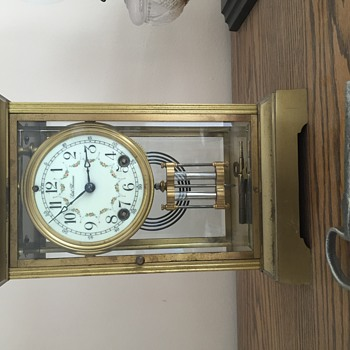 My great grandmothers clock, I love it!  - Clocks