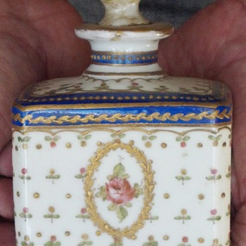 France Flower Bottle  - Pottery