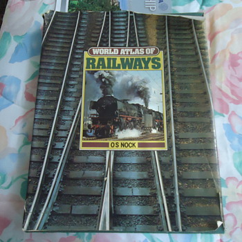 WORLD ATLAS OF RAILWAYS ..os nock - Books