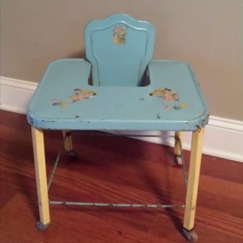 Baby high chair or 'activity' table or walker