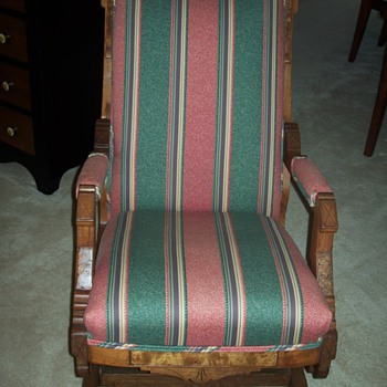 "My Antique ""Man"" and ""Woman"" Rocking Chairs"