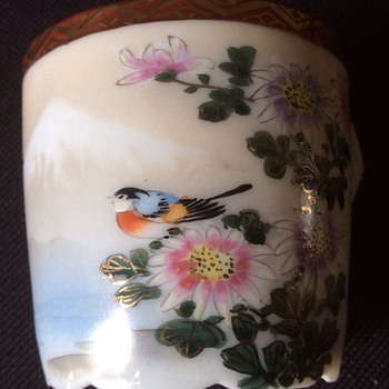 Oriental Hand painted cup