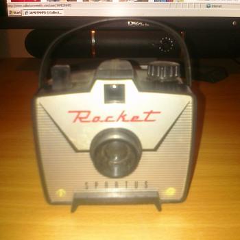 Rocket Spartus Camera