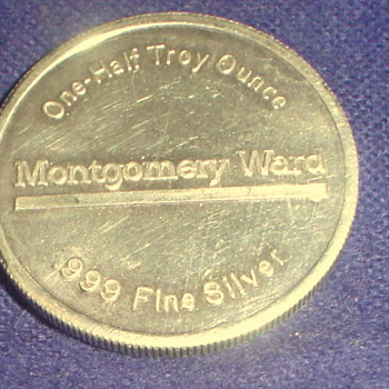 Montgomery Ward Silver Coin - US Coins