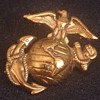 Vintage USMC Eagle Anchor & Globe Pin Early Version