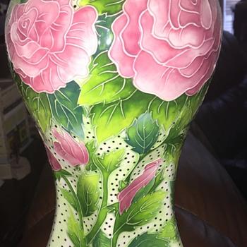 Blue sky J. McCall vase - Pottery