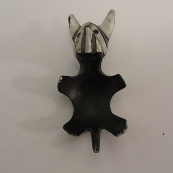 Trench Art Ashtray Dog German - Animals