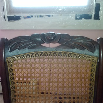 My Grandmother's antique rocker