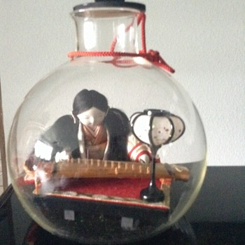 Doll in a jar
