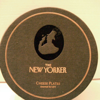 The New Yorker Cheese Plates