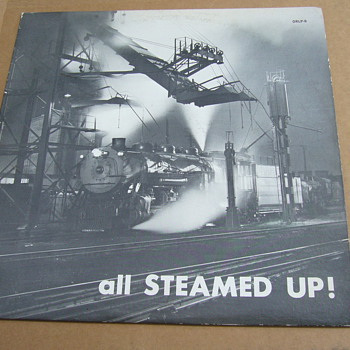 all steamed up howard fogg on a owl record release #orlp-9 - Railroadiana