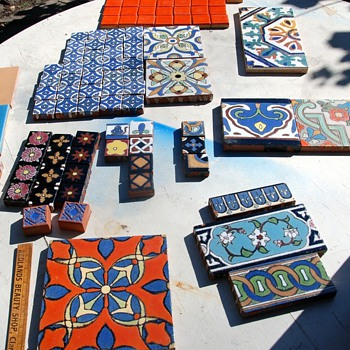 Old California Tile Collection - Art Pottery