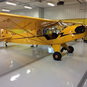 Flying In a 1938 Piper Cub