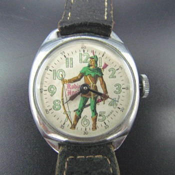 "Viking Watch Co. ""Robin Hood"" Wristwatch - Wristwatches"